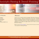 Randolph's Painting and Drywall Visionary